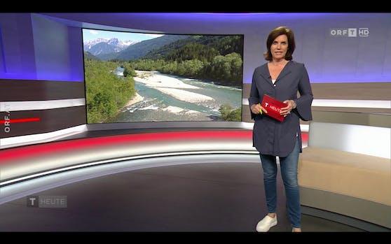 Katharina Kramer sorgte mit diesem Outfit für Diskussionen.