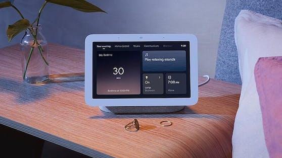 Die zweite Generation bei tink kaufen: Der Google Nest Hub 2 analysiert auf Wunsch den Schlaf.