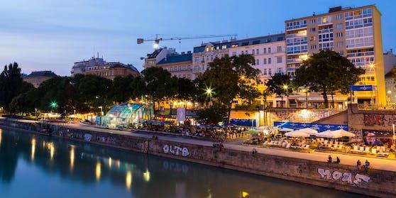 Beliebt: Der Wiener Donaukanal. Donnerstag werden neue Öffnungsschritte verkündet.