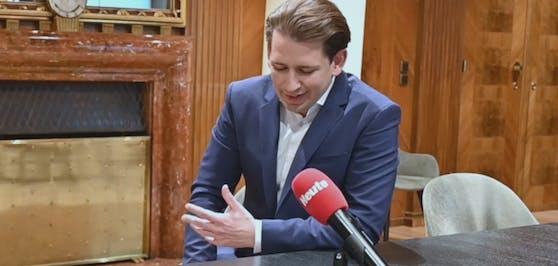 Bundeskanzler Sebastian Kurz über seinen Besuch im Schweizerhaus