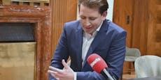 """Kanzler spricht über """"Kurz muss weg""""-Rufe im Lokal"""