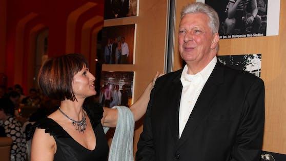 Edi Finger junior mit seiner Ex-Frau Marion Finger