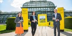 100 Jahre Bundesgärten: Post liefert Duft-Briefmarke