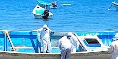 Geisterschiff mit 14 Leichen treibt auf Karibikinsel zu