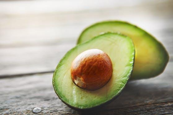 Die angebliche Tatwaffe: Eine Avocado