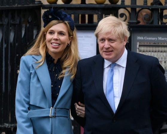 Boris Johnson und Carrie Symonds haben Ja gesagt.