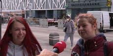 Wiener stürmen Geschäfte für Schuhe und Drinks