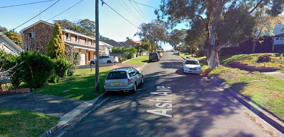 Der Unfall ereignete sich in der Ash Avenue in Caringbah South