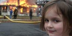 """""""Disaster Girl""""-NFT für 340.000 Euro verkauft"""
