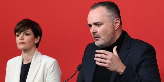 SPÖ-Chefin Pamela Rendi-Wagner und Burgenlands Landeshauptmann Hans Peter Doskozil
