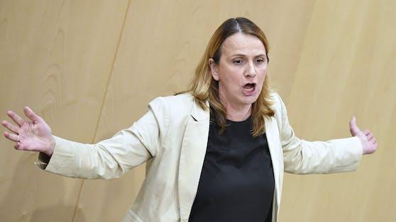FPÖ-Abgeordnete Dagmar Belakowitsch wurde besonders laut.