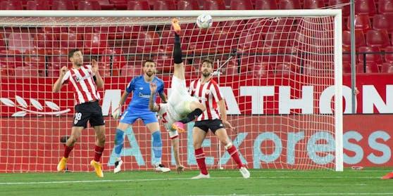Sevilla unterlag Bilbao mit 0:1.