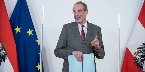 Bildungsminister Heinz Faßmann setzt weiter auf Antigen-Tests an den Schulen.