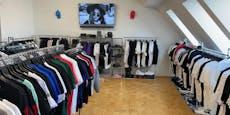 Finanzpolizei hebt illegale Boutique in Brigittenau aus