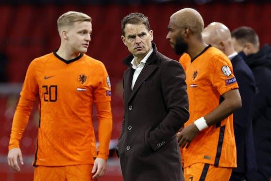 Niederlande-Teamchef Frank de Boer.