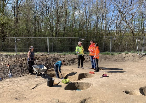 Archäologische Funde bei Arbeiten an der Mattersburger-Schnellstraße
