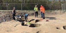 Archäologische Funde bei Arbeiten an der S4