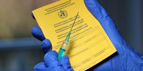 Corona-Schutzimpfungen sind im elektronischen Impfregister vermerkt.