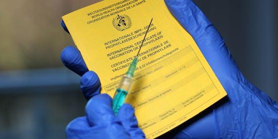 Die Impfung wurde dem Wiener vorerst nicht in den Impfpass eingetragen.