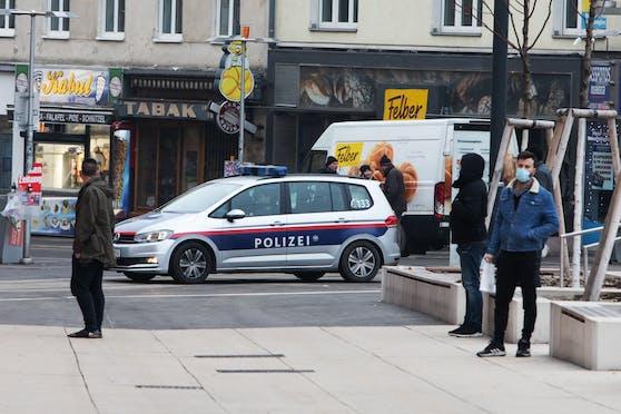 Polizei-Einsatz in Favoriten (Archivfoto)