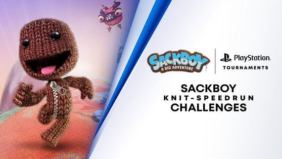 """PS5-Turniere starten mit der """"Strick-Speedrun-Herausforderung"""" in """"Sackboy: A Big Adventure""""."""