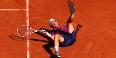 Bitter! Thiem scheitert bei French Open in Runde eins