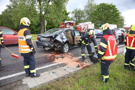Der Crash forderte sechs Verletzte.