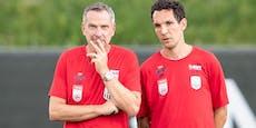 "LASK-Trainer Thalhammer sägt ""Co"" Pogatetz ab"