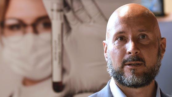 Virologe Christoph Steininger