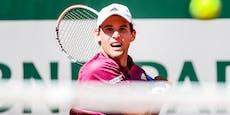 Thiem muss Match aufgeben! Tennis-Star verletzt