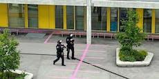 """Schüsse"":Wega raste zu Schule in Wiener Donaustadt"