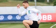 Arnautovic muss Test gegen England auslassen