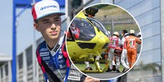KTM-PilotDupasquier ringt nach Sturz mit dem Tod