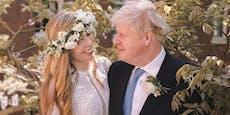 Erste Fotos von Boris Johnsons Hochzeit aufgetaucht