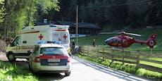 Frau erleidet bei Mountainbike-Unfall Kopfverletzungen