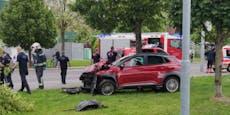 Autolenker erleidet Herzstillstand und kracht in Baum