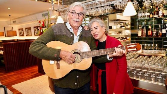 Peter Simonischek mit Ehefrau Brigitte Karner