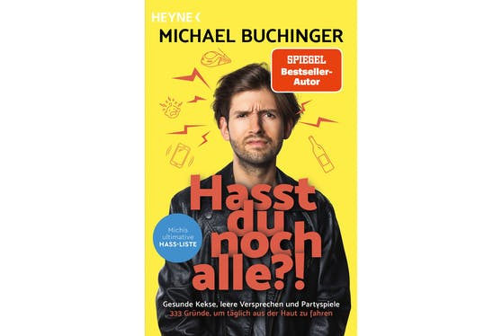 "Michael Buchinger –""Hasst du noch alle?!"""