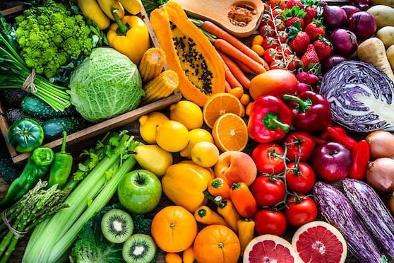 Allerlei Buntes auf dem Speiseplan lässt die Kilo purzeln und stärkt das Immunsystem.