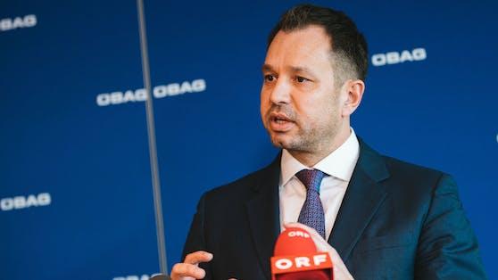 ÖBAG-Vorstand Schmid