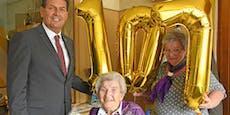 Anna aus Langenlois feierte ihren 107. Geburtstag