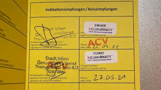Mit diesen Stempeln will das Austria Center die Betrüger nun stoppen.