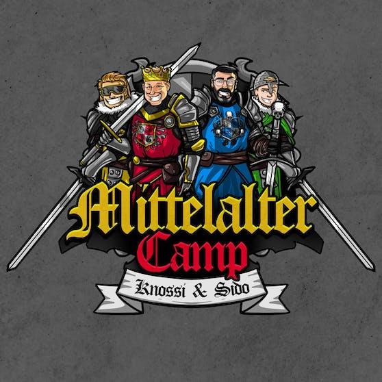 Gaming-Startup OWN3D rüstet das Mittelalter Camp mit Knossi und Rapper Sido mit eigenen Designs auf.