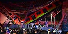 15 Tote bei U-Bahn-Unglück in Mexiko-Stadt