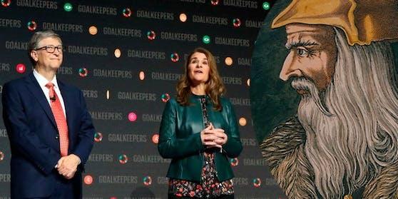 """Nach der Trennung von Bill Gates und seiner Frau Melinda: Wer kriegt den """"Da Vinci Codex""""?"""