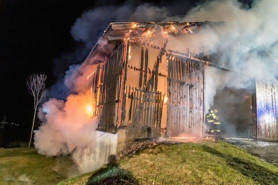 Der Brand in Guggendorf