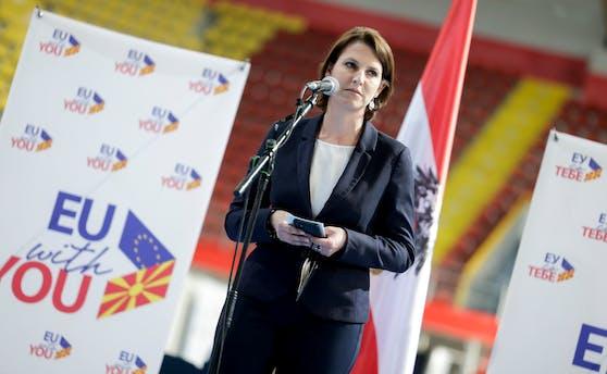 Europaministerin KarolineEdtstadler (ÖVP).