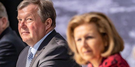 Landesrat Bernhard Tilg (ÖVP), Landesrätin Patrizia Zoller-Frischauf (ÖVP).