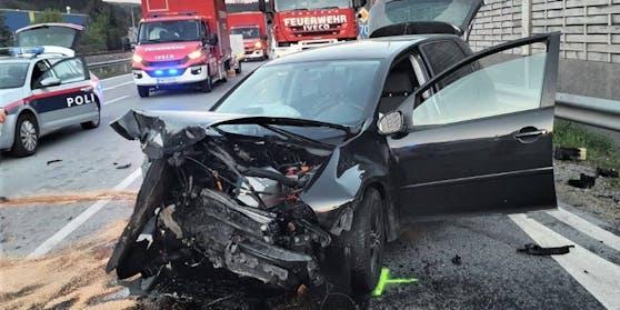 Schwerer Verkehrsunfall im Bezirk Voitsberg