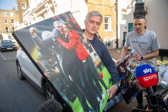 Vor zwei Wochen räumte Mourinho sein Spurs-Büro. Jetzt zieht er nach Rom.